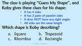 4th Grade Math End of Year Review Game