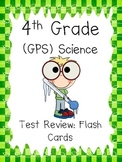 4th grade Science Review Study Cards for testing