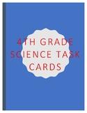 4th grade Science Task Cards