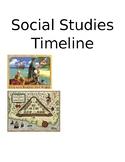 4th grade Social Studies Timeline for Classroom