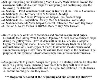 4th Social Studies Unit 1 Topic 1 The Many Maps of the United States