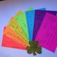 4th grade St. Patrick's Day Math craftivity centers game