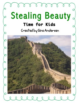"4th grade Treasures Reading Unit 2 Week 3 ""Stealing Beauty"""