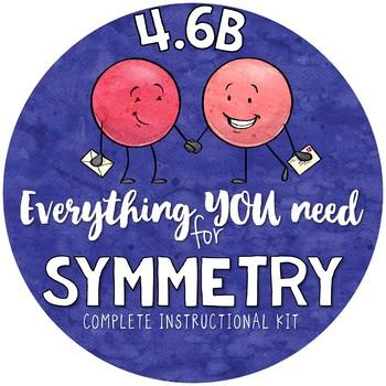 4th grade Symmetry Activities TEKS 4.6B symmetrical figures & lines of symmetry