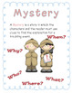 """4th grade Treasures Reading Unit 1 Week 1 """"The Mystery of the Missing Lunch"""""""