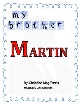 "4th grade Treasures Reading Unit 3 Week 2 ""My Brother Martin"""