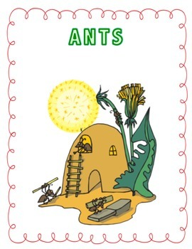"""4th grade Treasures Reading Unit 6 Week 5 """"The Life and Times of the Ant"""""""