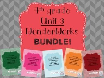 4th grade Unit 3 WonderWorks- BUNDLE!