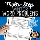 4th grade Winter Word Problems - Close Reading