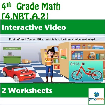 Common Core Math Activity- Compare two Multi-Digit Whole N