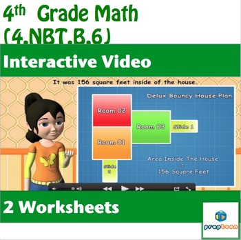 Division of two Whole Numbers-4.NBT.B.6