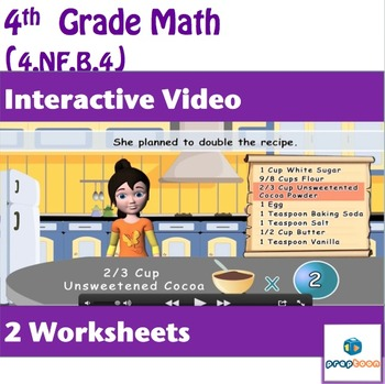 Common Core Math Activity-Multiplication of Two Fractions-