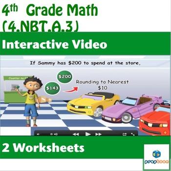Common Core Math Activity-Place Value Understanding - 4.NBT.A.3