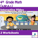 Common Core Math Activity- Recognize and Generate Equivalent Fractions-4.NF.A.1