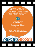 4th grade math video activity for adding two angles