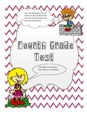 4th grade cumulative Test