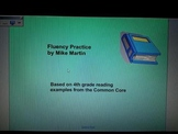 4th grade fluency practice- Common Core