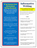 4th grade informational writing