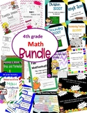 4th grade math ALL products bundle
