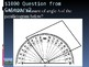 4th grade math Jeopardy Measuring Angles