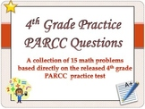 4th grade math Test Prep practice test questions- Common Core