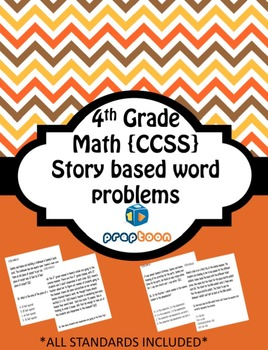 Common Core Math Worksheets (All the 4th grade standards included)