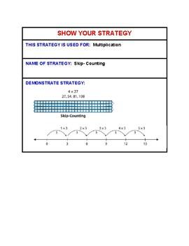 4th grade multiplication strategies