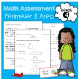 4th grade perimeter and area assessment