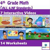 4th Grade Fractions Videos