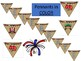 SUMMER - 4th of JULY pennant DECORATIONS