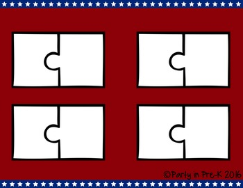 4th of July ABC Puzzles
