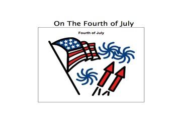 4th of July- Adaptive Book austism-lang tx