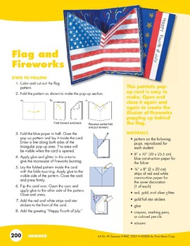 4th of July Art Projects