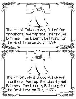 4th of July Activities and Printables for K-1
