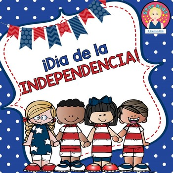 4th of July Activities in SPANISH for K-1
