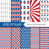 4th of July Bbq Party-Digital Paper (LES.DP40)