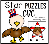 4th of July CVC Puzzles