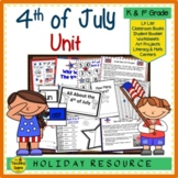 4th of July:  Centers & Actvities