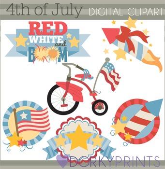 4th of July Clip Art