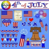 4th of July Clipart (Creative Studios Clipart)