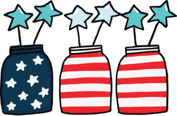 4th of July Clipart by Creative Messy Teacher | TpT