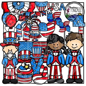 4th of July Clipart (Independence Day Clipart)