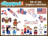 4th of July Clipart Collection
