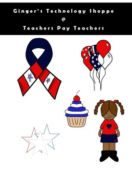 4th of July Clipart!  *** Freebie ***