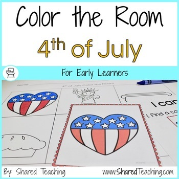 4th of July Color the Room