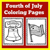 4th of July Coloring Pages | Sheets