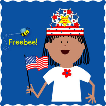 4th of July Craft FREEBEE
