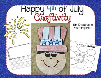4th of July Craftivity