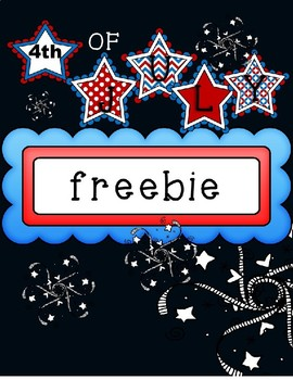 4th of July Data Freebie