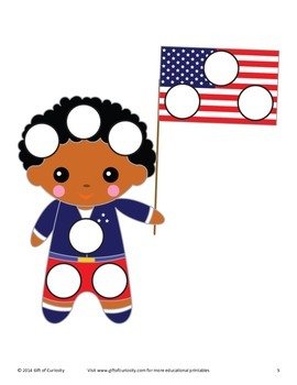 4th of July Do-a-Dot Printables